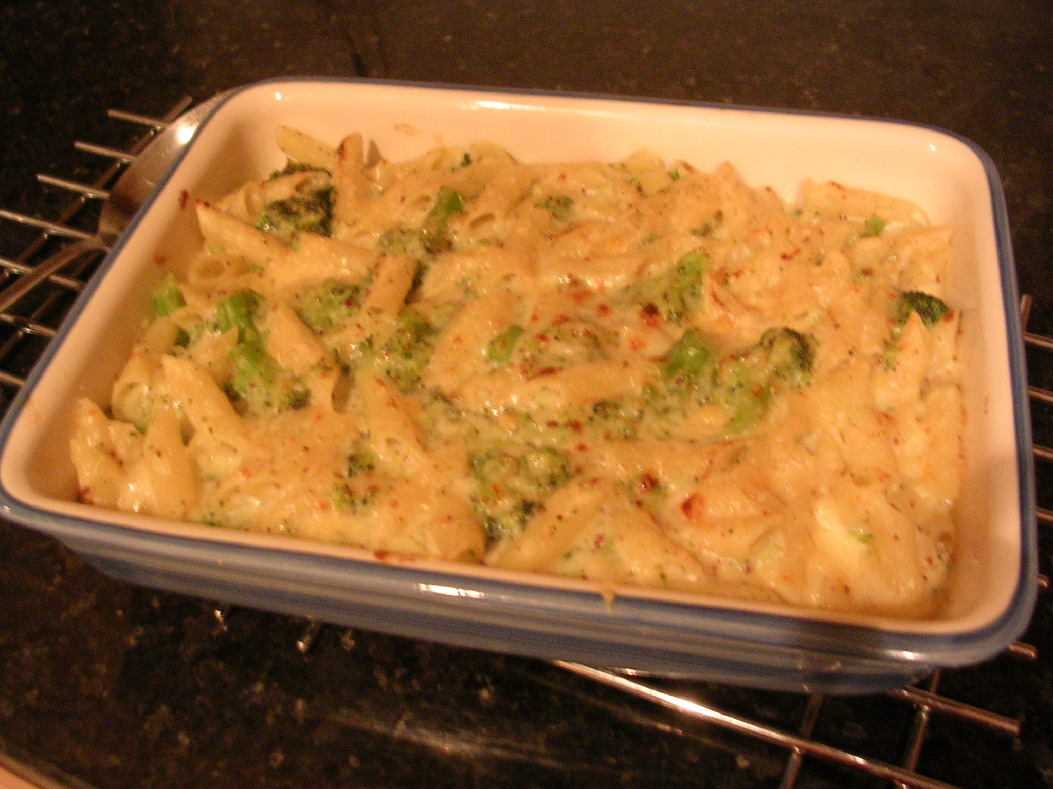 Cheesy Penne and Broccoli Bake