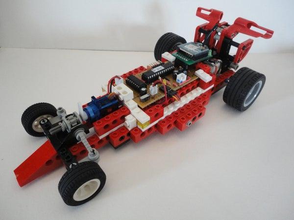 Wireless Lego Race Car