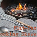 DIY Flat-Pack Collapsible Cooking Skewers