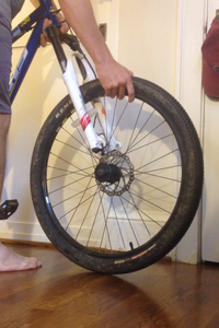 Removal of Tire