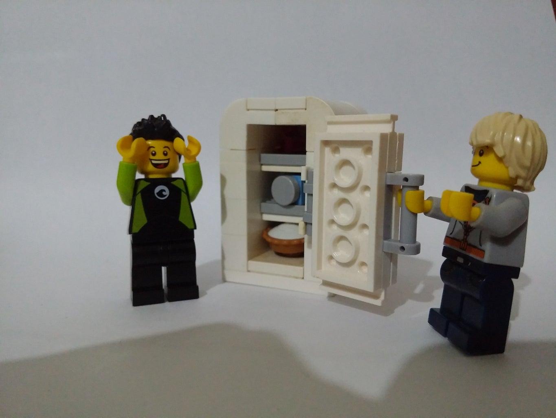 How to Build a Lego Refrigerator Tutorial