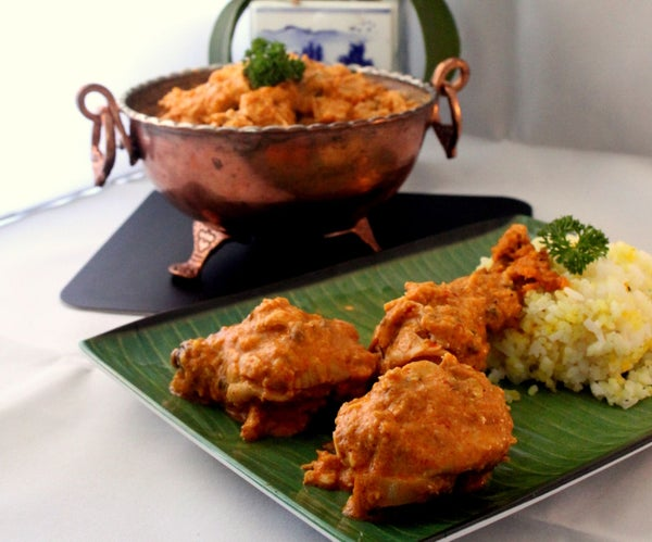 Chicken Curry With Coconut Milk and Tamarind