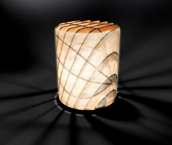 行燈 - Paper-enclosed Lantern -