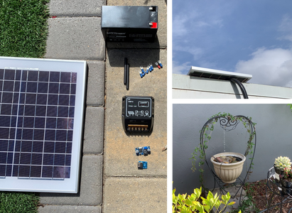 Standalone Solar-to-USB With Battery