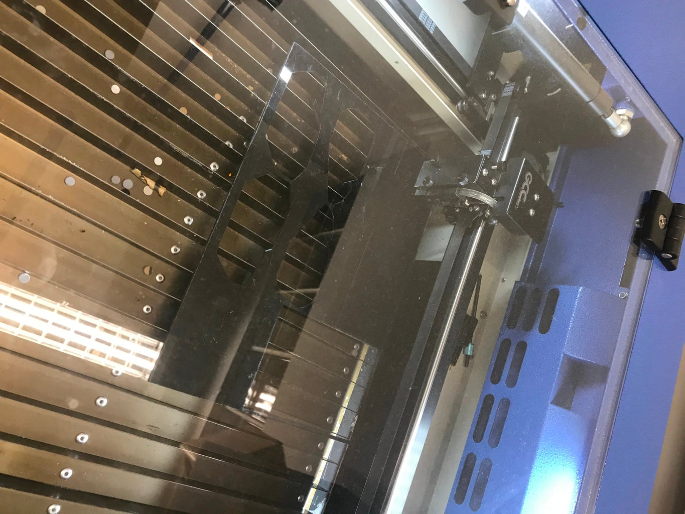 Laser Cutting the USB Interface