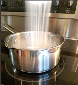 Combine Ingredients and Heat!