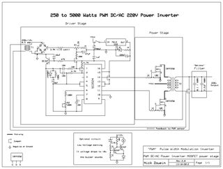 250 To 5000 Watts Pwm Dc Ac 220v Power Inverter Instructables