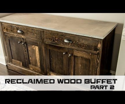 How to Make a Reclaimed Wood Buffet