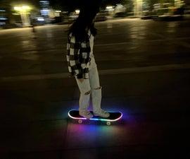 Arduino LED Skateboard