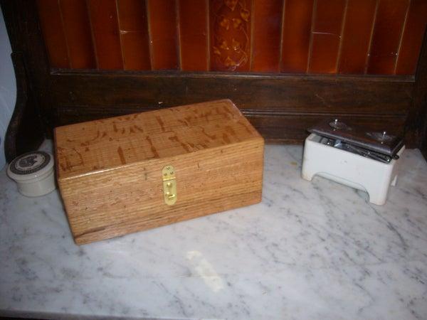Firewood Jewelry Box