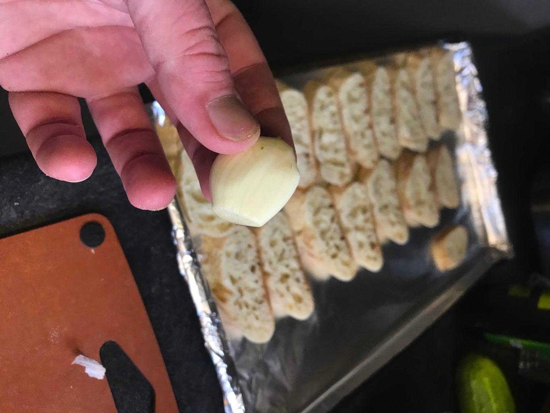 Grillng and Garlic