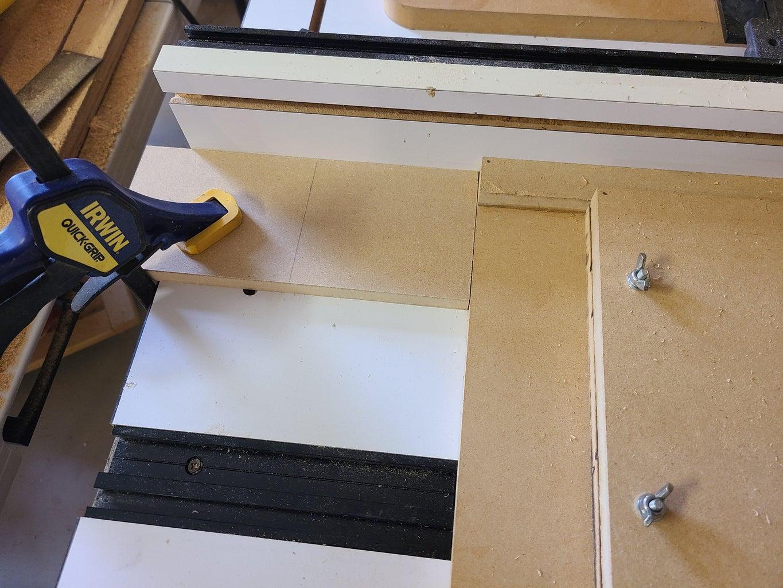 Cutting the Half Lap Joints - Setup
