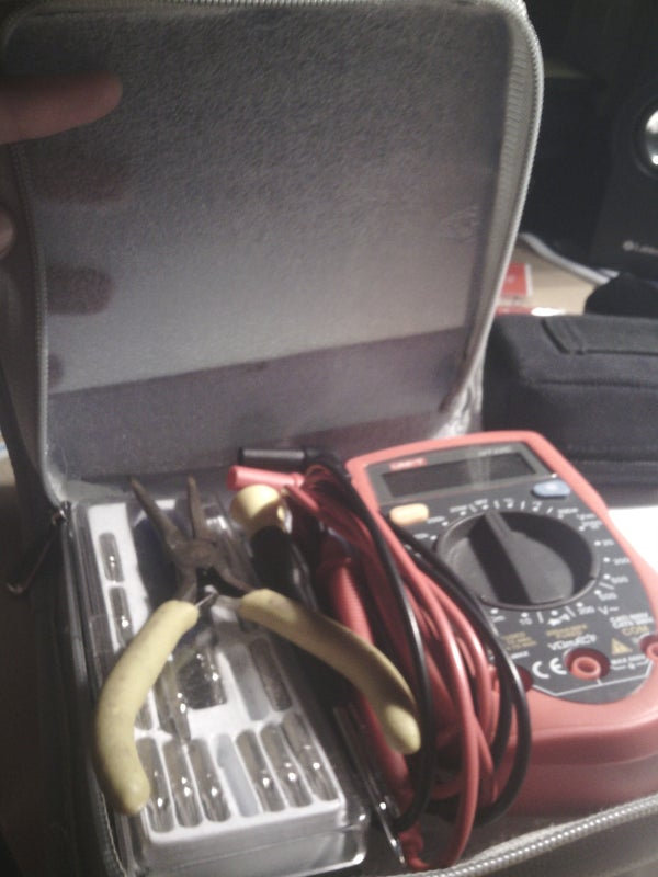 Portable Tool Kit/toolbag From Cd Case