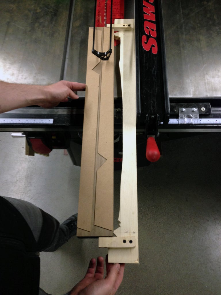 Building the Parts for the Legs