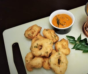 Copycat Medhu Vada With Sambhar Recipe of Udupi