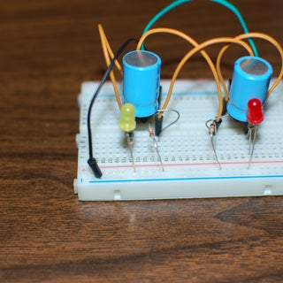 Simple LED Flip-Flop for Beginners