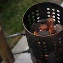 Low Budget BBQ Chimney Starter, IKEA Hack
