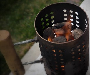 Low Budget BBQ Chimney Starter, IKEA Hack