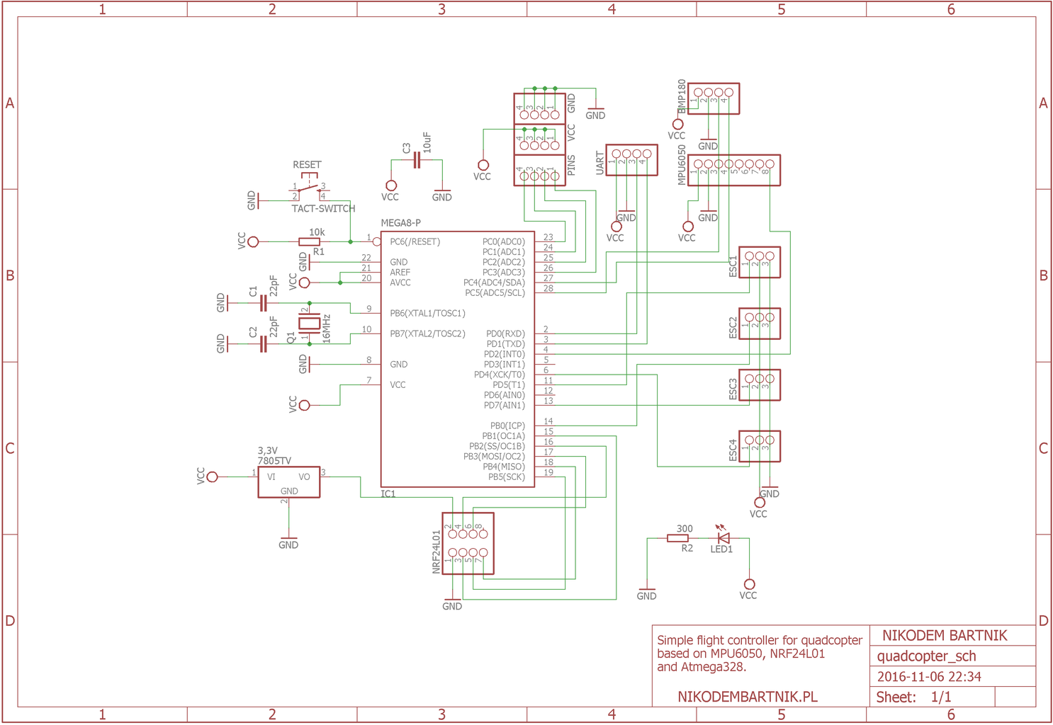 Flight Controller PCB (and Power Distribution)