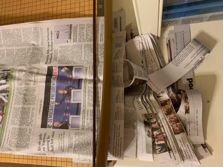 Make Your Paper-Mache Paste!