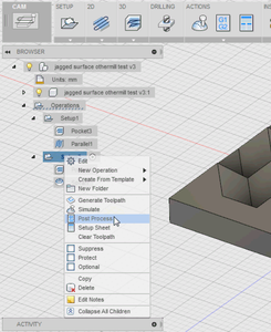 Exporting Toolpaths