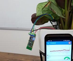 物联网WiFi花湿度传感器(电池供电)