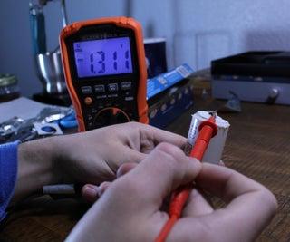DIY铝箔充电D电池