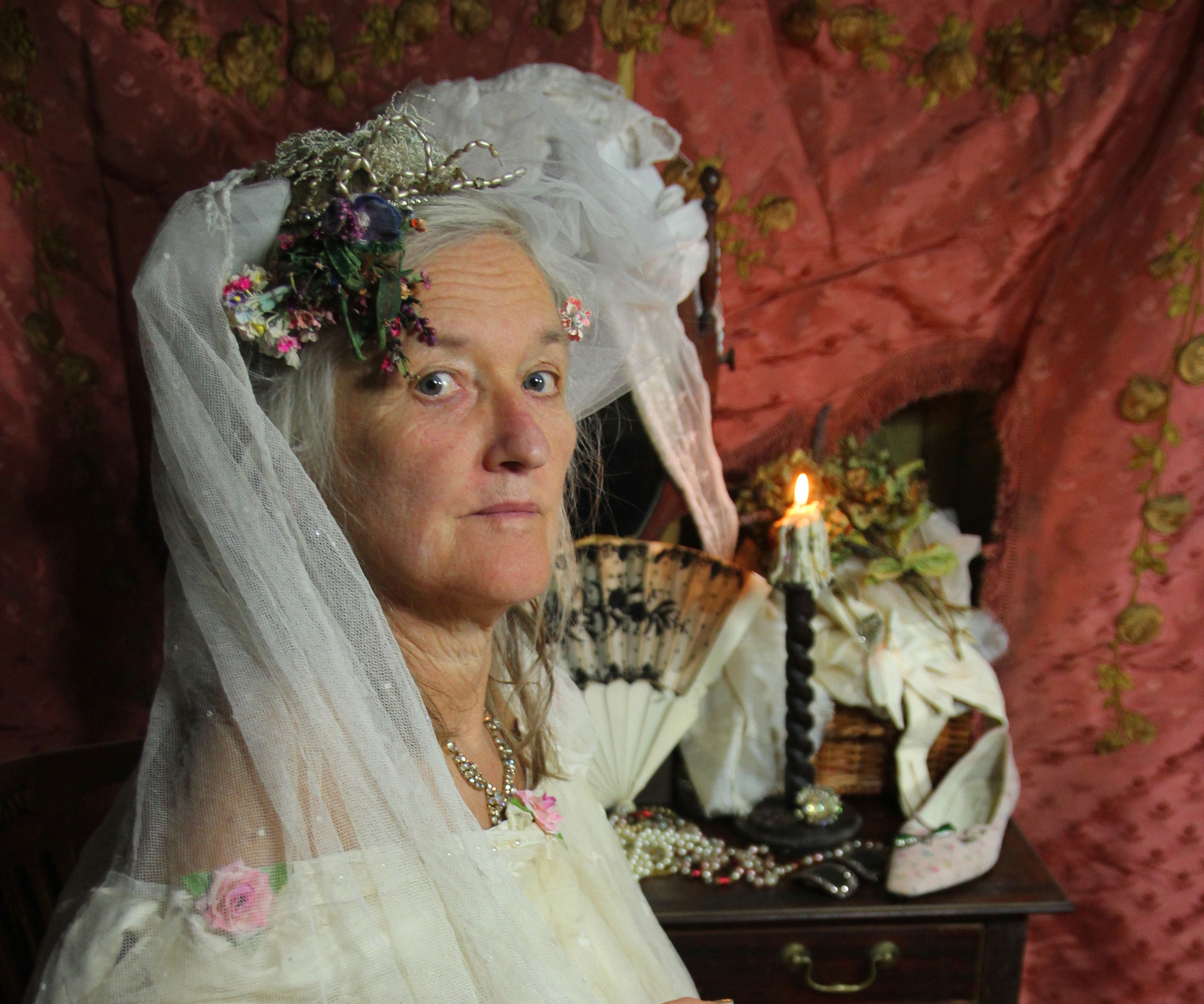 Miss Haversham - the Perpetual Bride From Charles Dickens's Great Expectations
