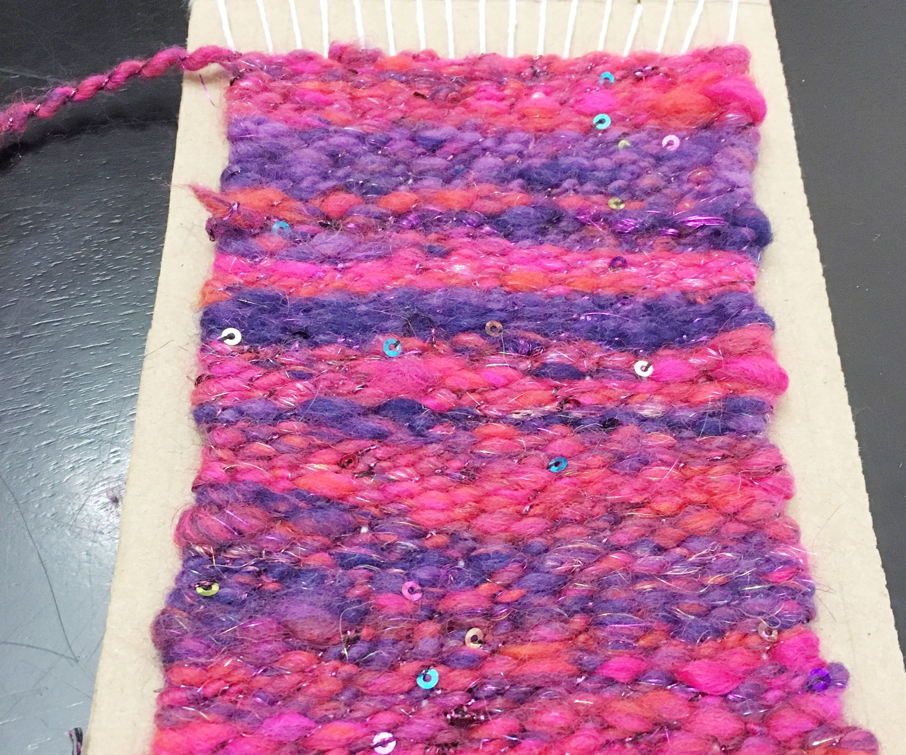 DIY Loom & Weaving