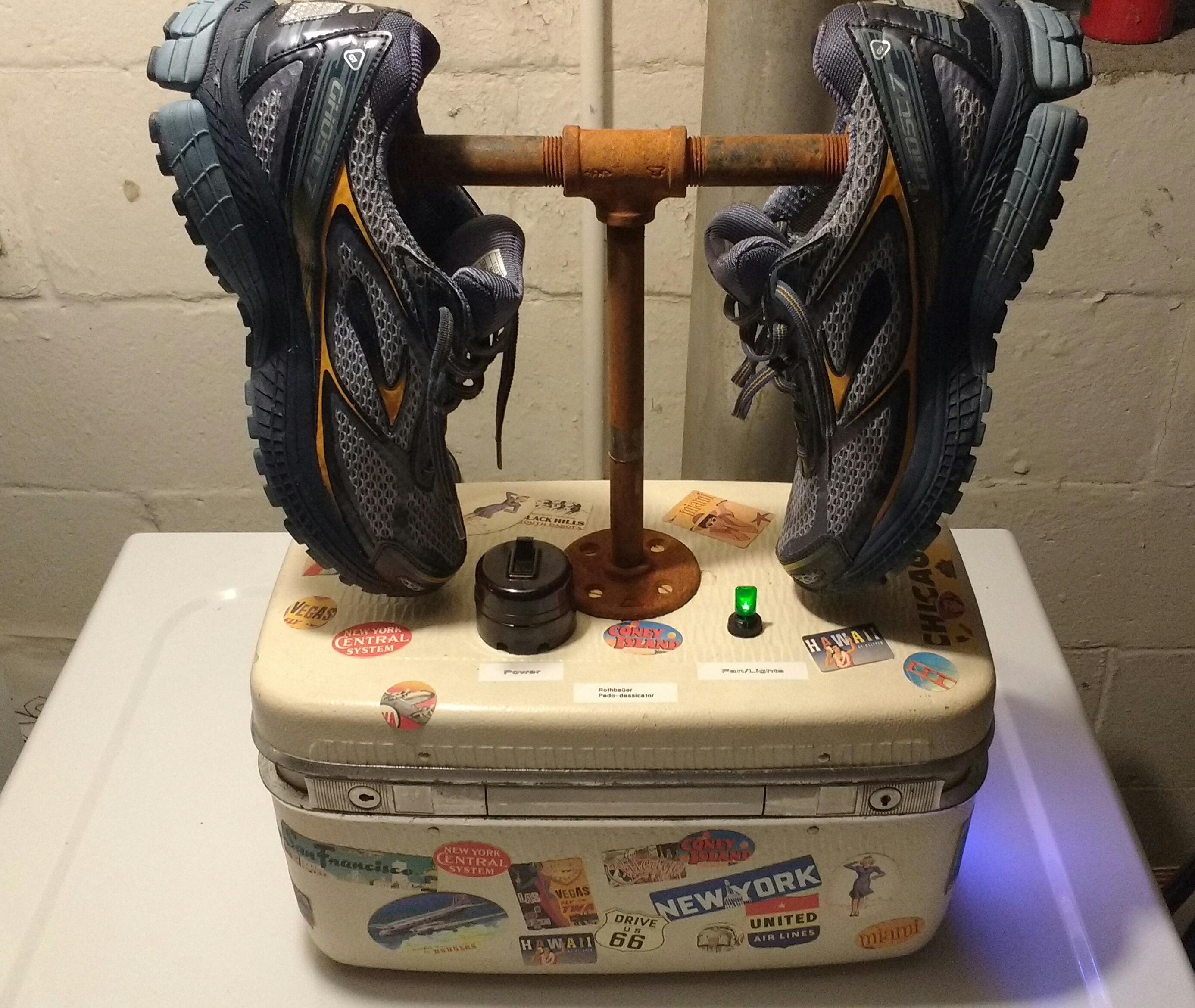 Steampunk Running Shoe Dryer: The Rauthbauer Pedo-Dessicator