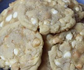 白芯片澳洲坚果饼干(地铁模仿配方)