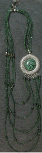 5 Layered African Style Bead Necklace
