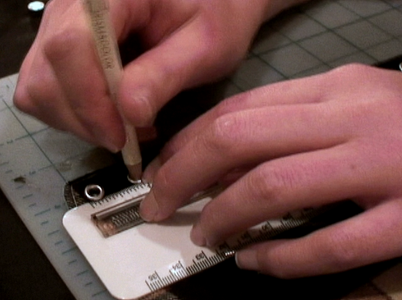 Measure the Holes for Eyelets