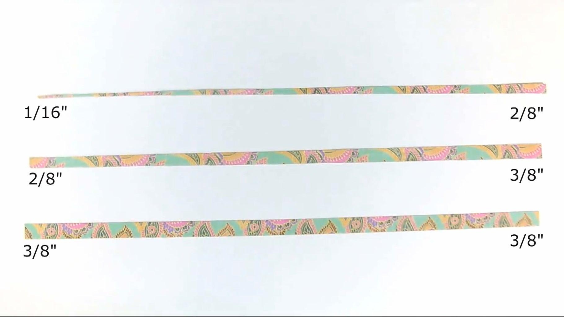 Cut the Paper Strips