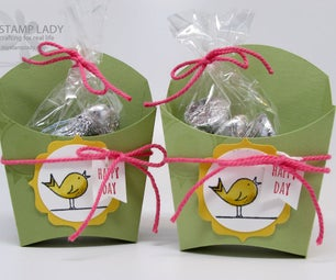 Party Treat Favors With Die Cutting