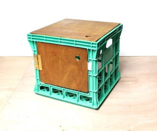 Using Milk Crates for Storage