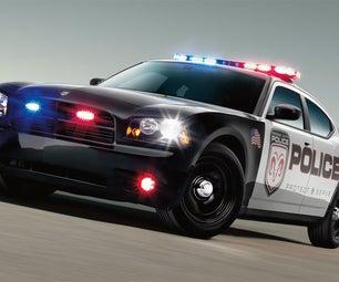 Arduino Police Lights (ATMega 2650 Version) **New Flash Patterns!**