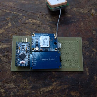 Arduino Gps GPX Format Tracker