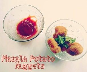 Crunchy Masala Potato Nuggets