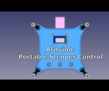 Arduino: Portable Two-Axis Stepper Control