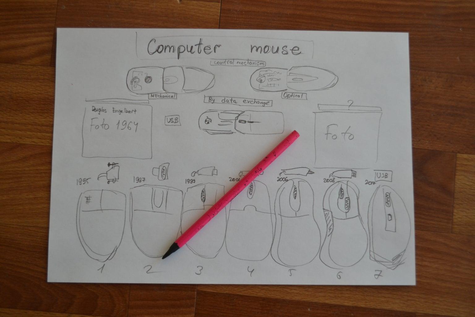 Step 1:Idea on Paper