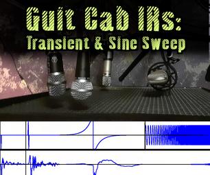 Guitar Cab Impulse Responses by Transient & Sine-Sweep Excitement