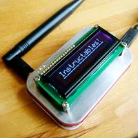 Wireless Altoids Display