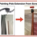 Painting Extension Pole From Scraps