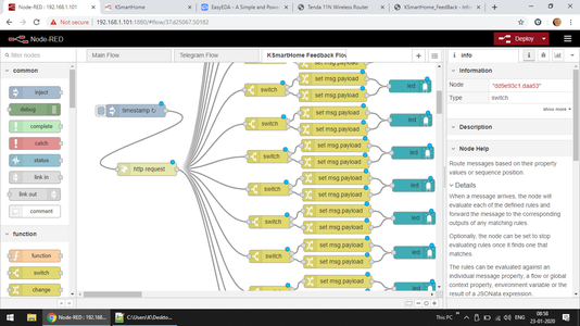 Finalizing and Node Red Integration