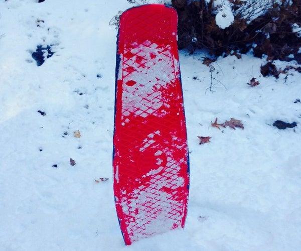 Snowboard/Snowskate From a Skateboard Deck