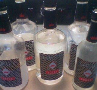 Filter your Vodka- ROTT GUTT into Grey Goose in 24 hrs.