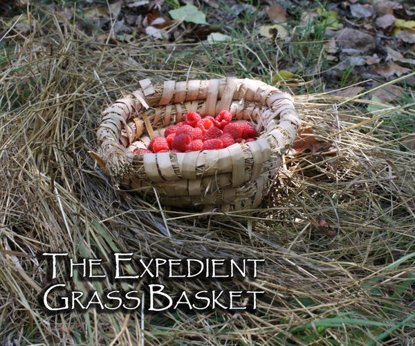The Expedient Grass Basket
