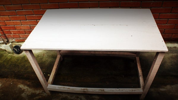 Reunited Wooden Table