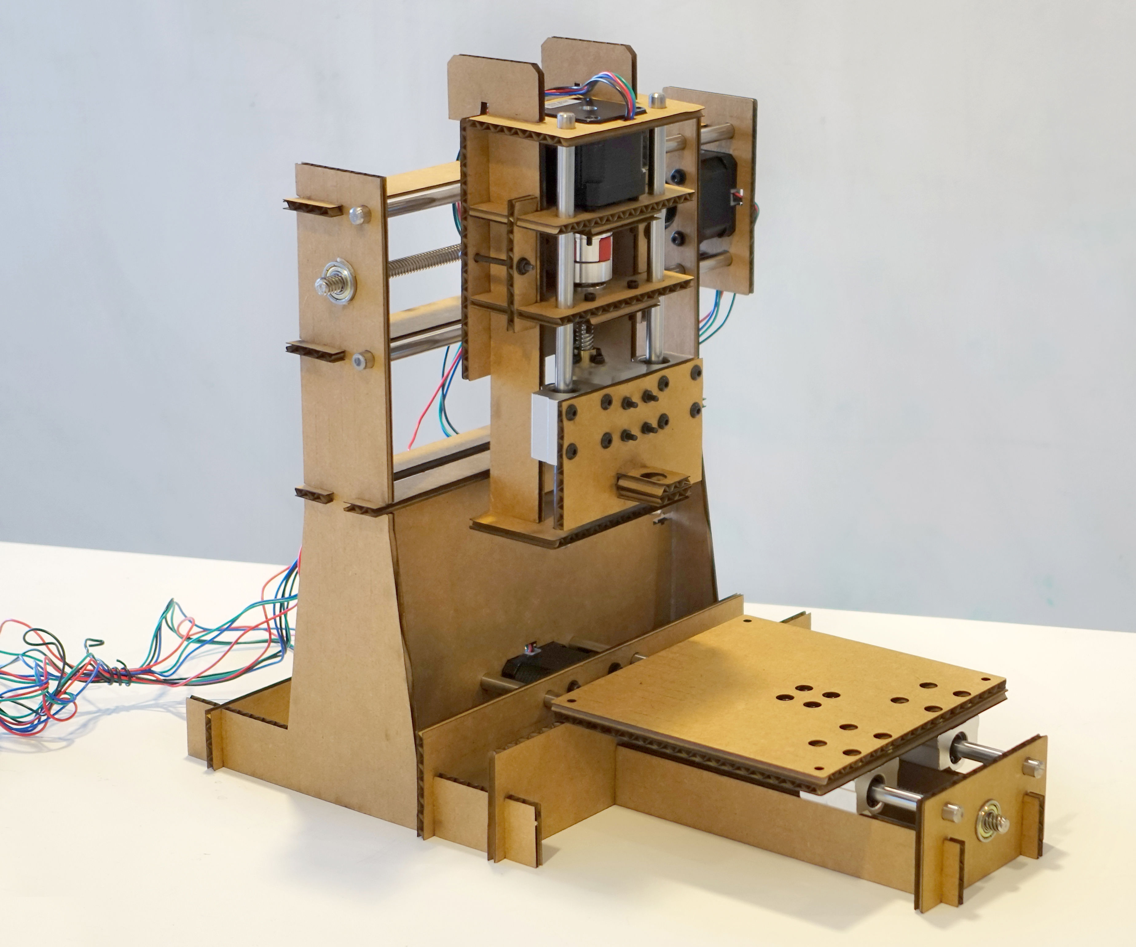 Press Fit Cardboard CNC Machine